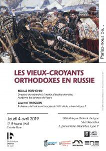 Evénement partenaire ENS : Conférence sur les Vieux-Croyants @ ENS de Lyon, fonds slaves de la Bibl. Diderot